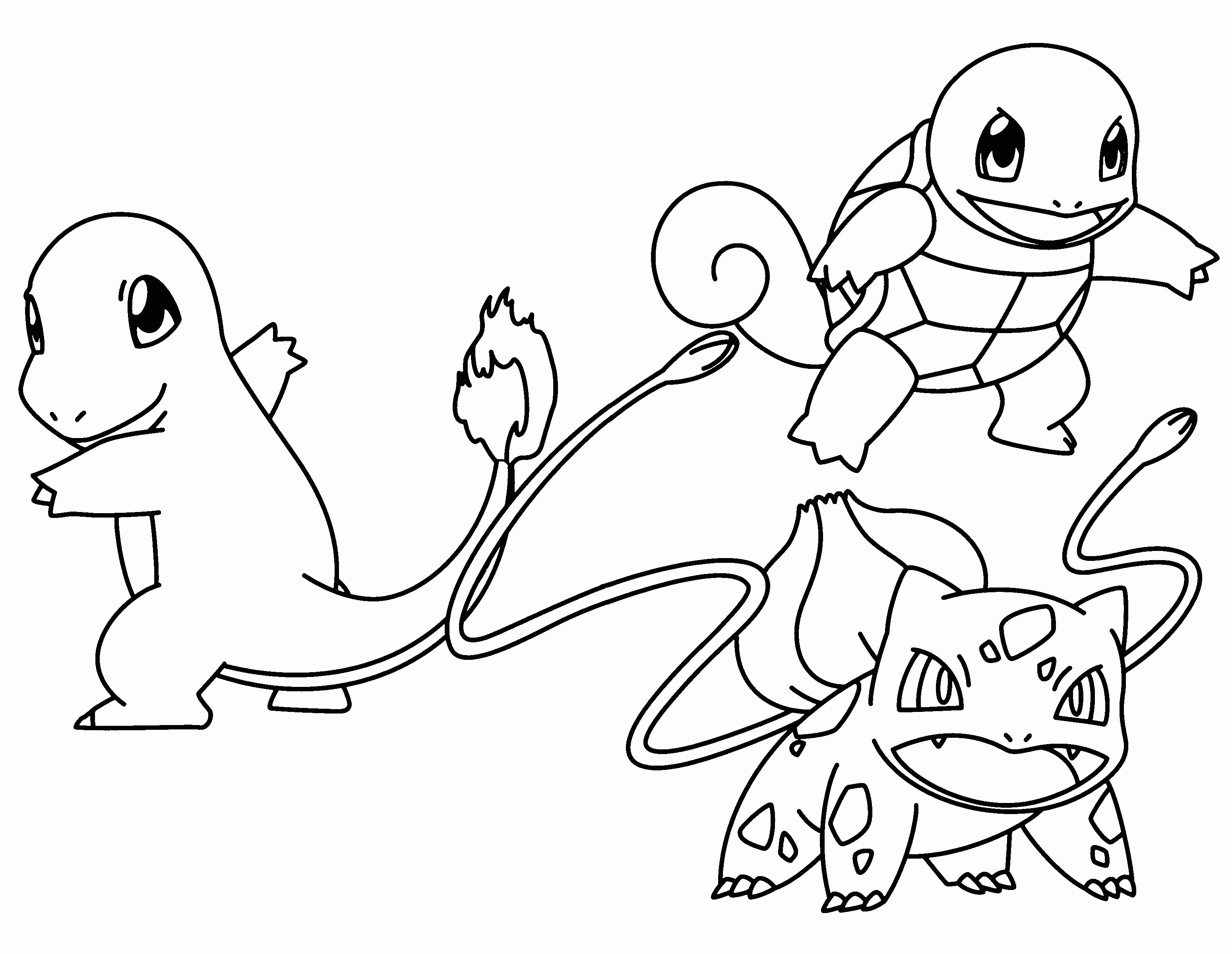 Charmander Coloring Page Pokemon Charmander Coloring Pages Kids
