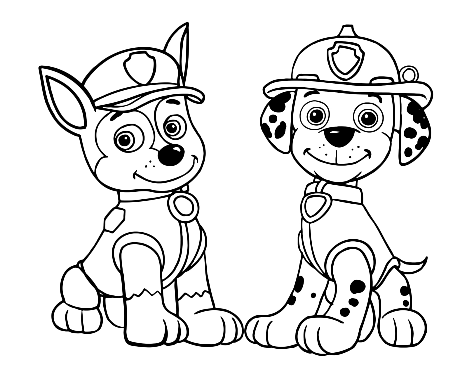 Chase paw patrol coloring pages to print ~ 25+ Excellent Picture of Chase Paw Patrol Coloring Page ...
