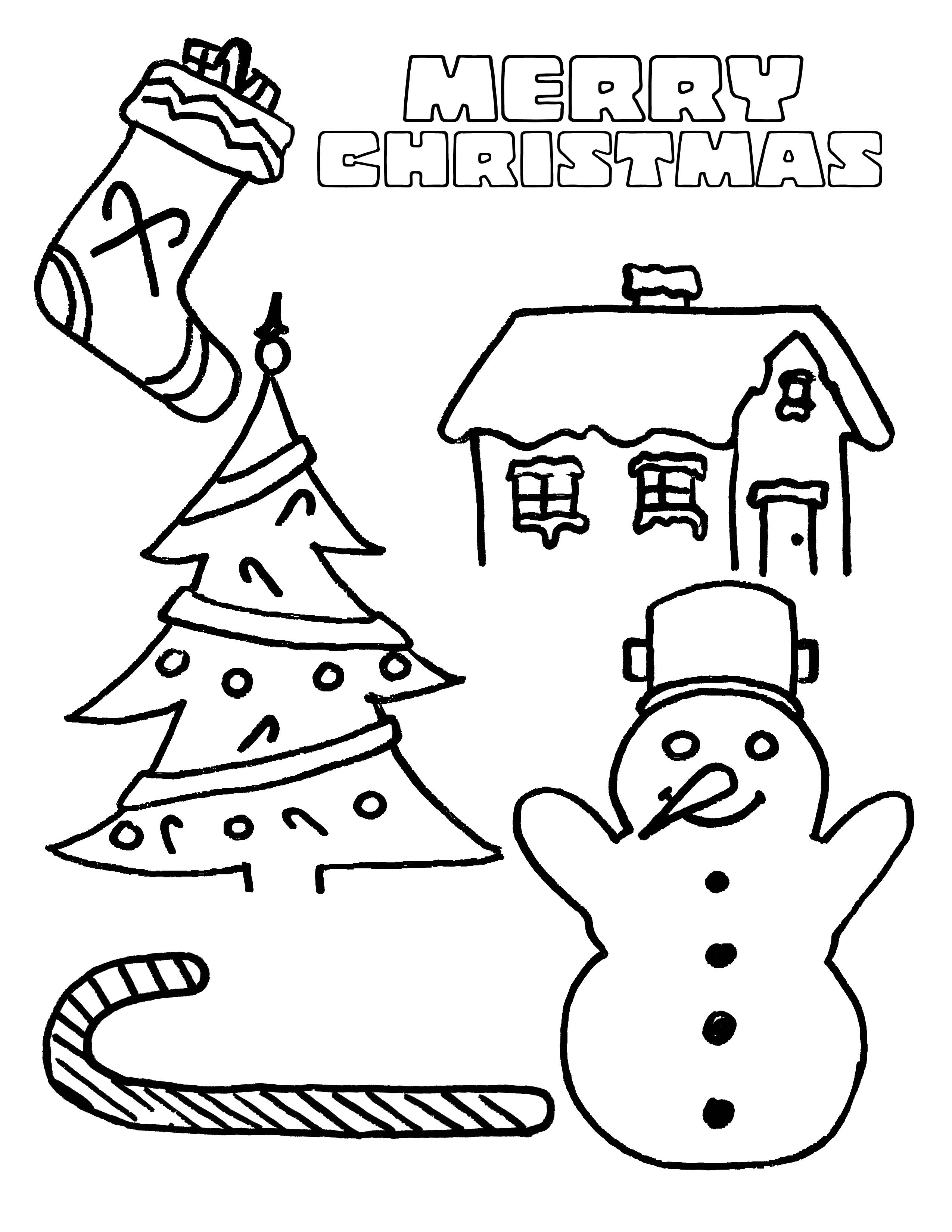 Christmas Coloring Pages To Print Free Christmas Coloring Pages Christmas Coloring Pages For Kids