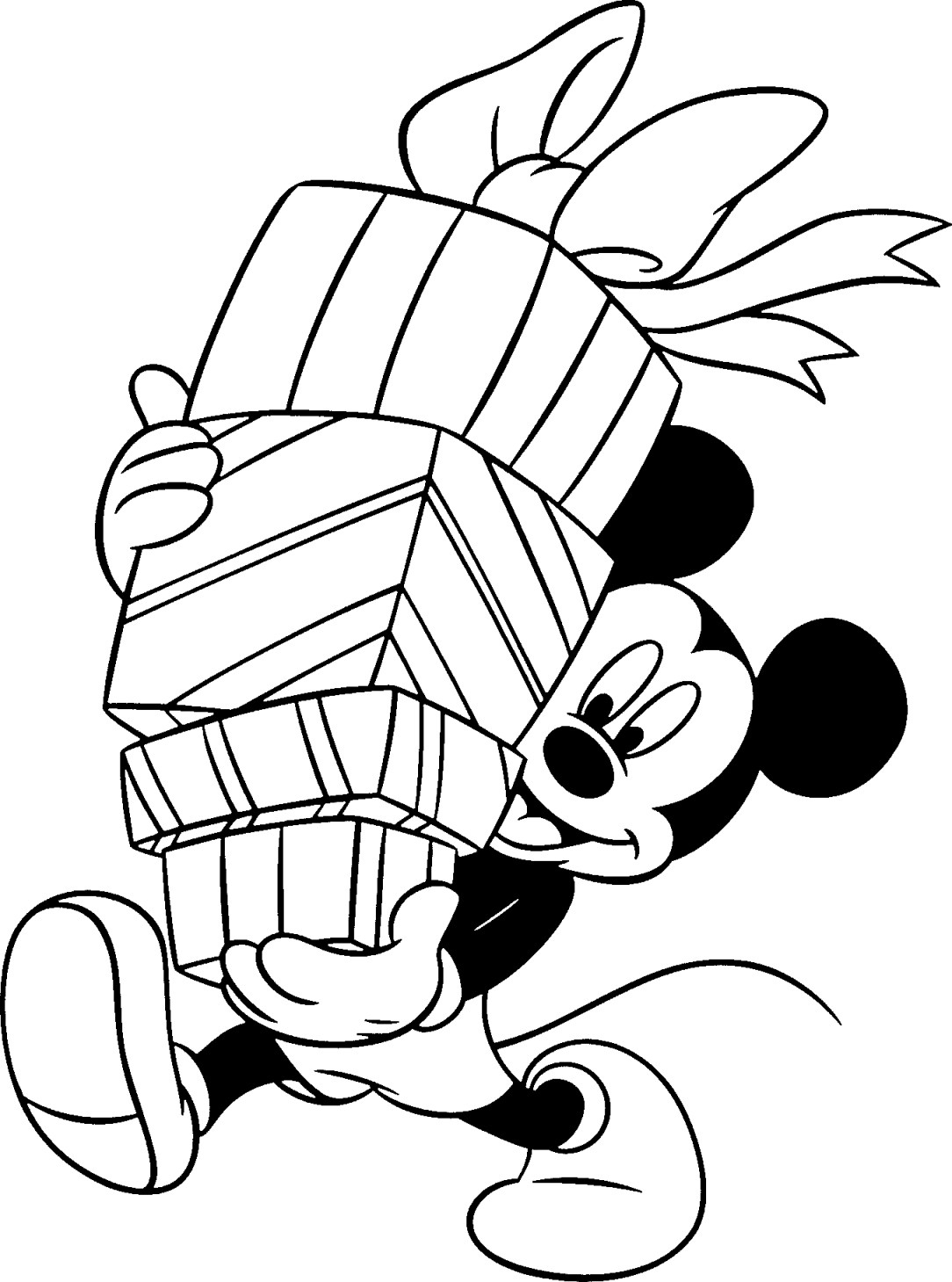 Christmas Coloring Pages To Print Free Free Disney Christmas Printable Coloring Pages For Kids Honey Lime