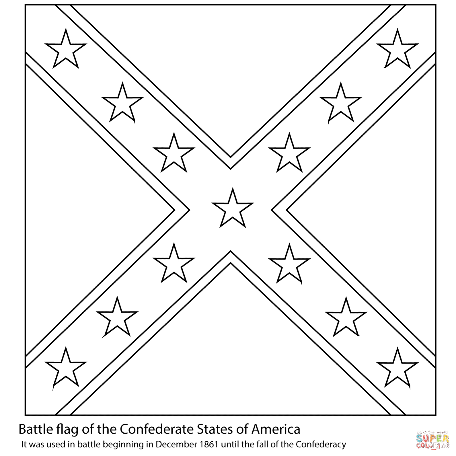Creative Photo of Civil War Coloring Pages