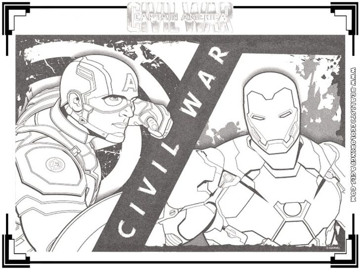 Civil War Coloring Pages Captain America Civil War Coloring Pages 30 Awesome Symbols The Usa