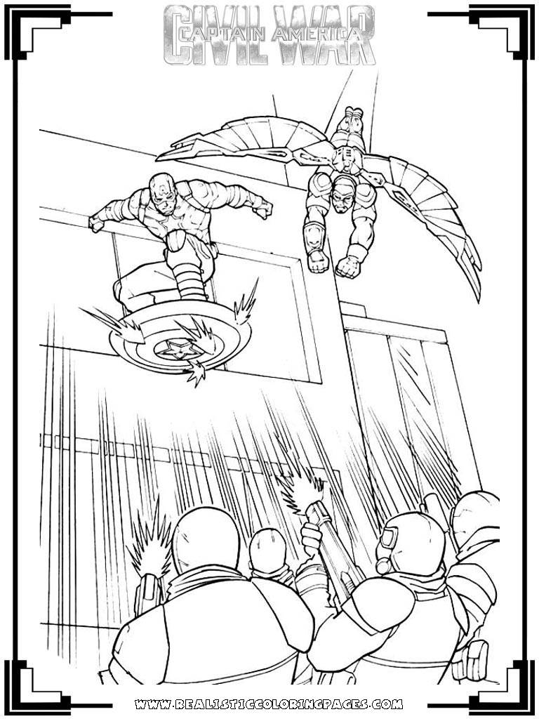 Civil War Coloring Pages Civil War Spiderman Coloring Pages Wwwpicturesvery