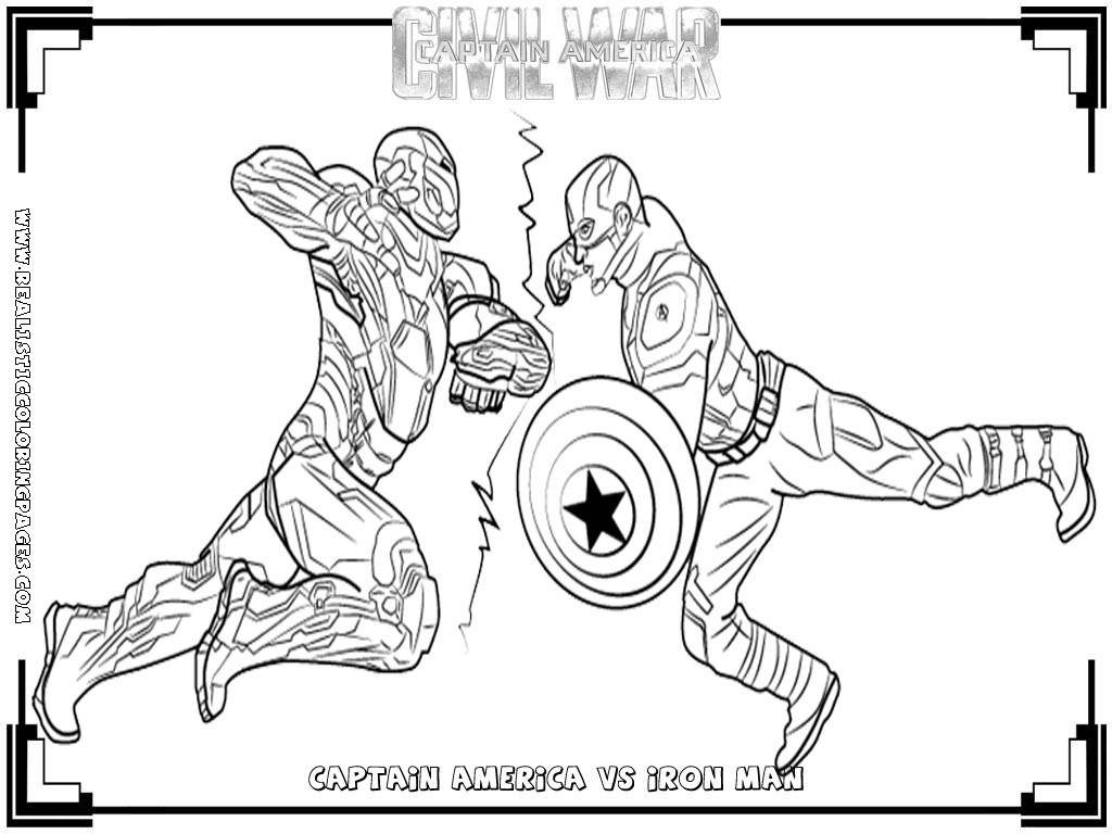 Civil War Coloring Pages Coloring Pages Captain America Civil War Coloring Pages Remarkable
