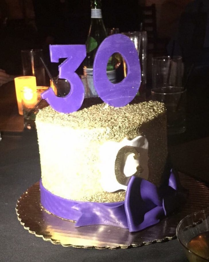 Classy Birthday Cakes A Gorgeous 30th Birthday Cake For A Classy Girl Yelp