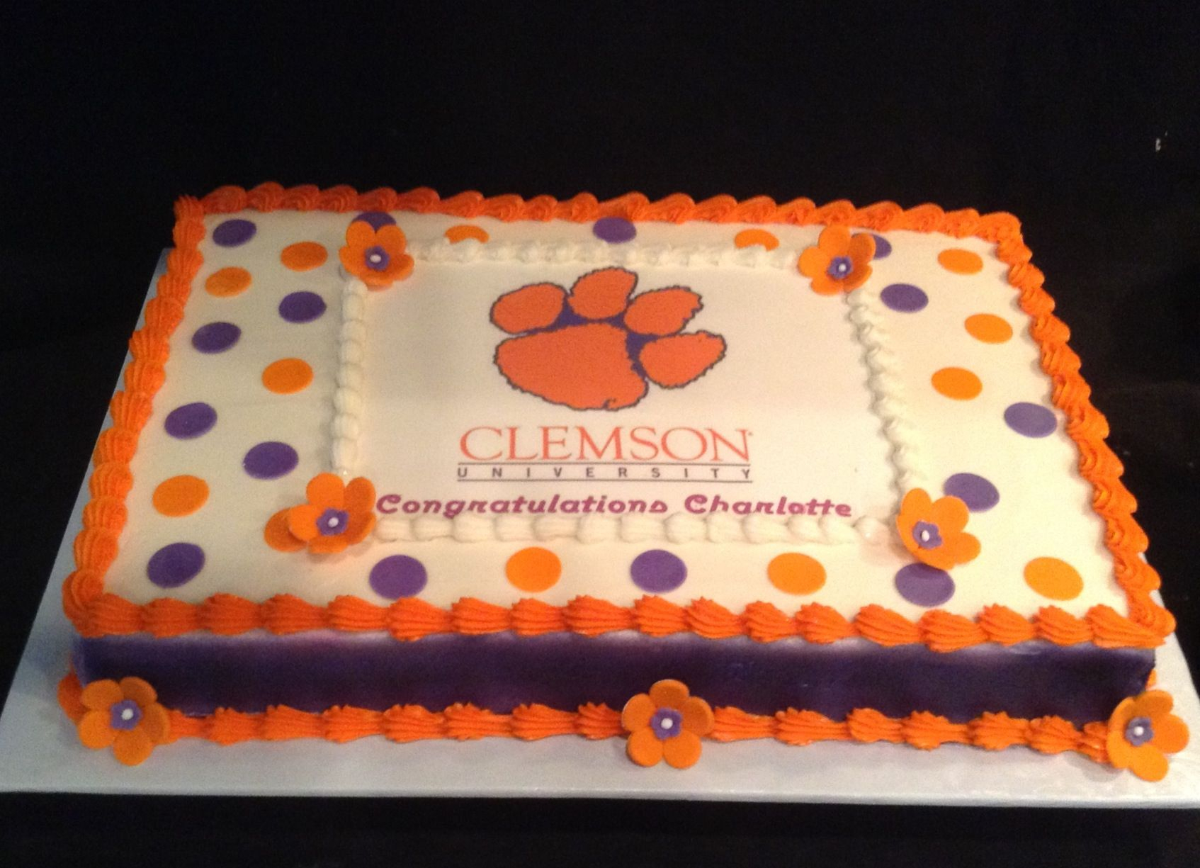 27+ Great Picture of Clemson Birthday Cake