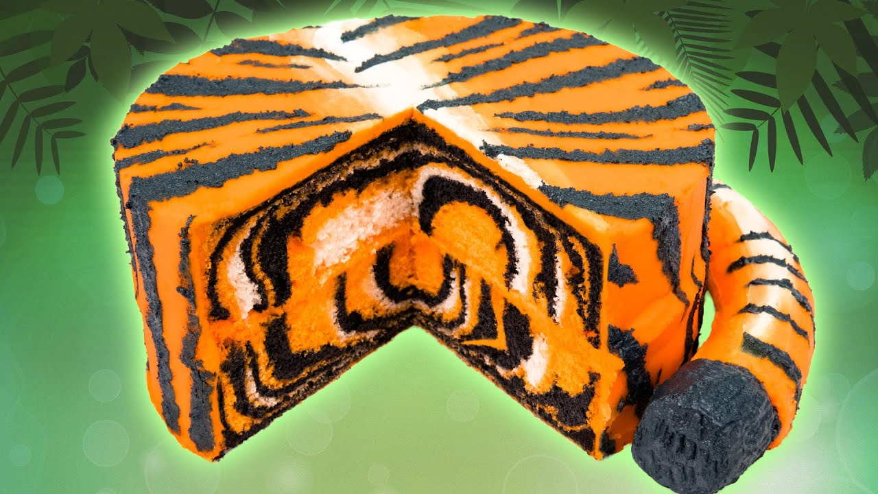 Clemson Birthday Cake How To Make A Tiger Cake From Cookies Cupcakes And Cardio Youtube