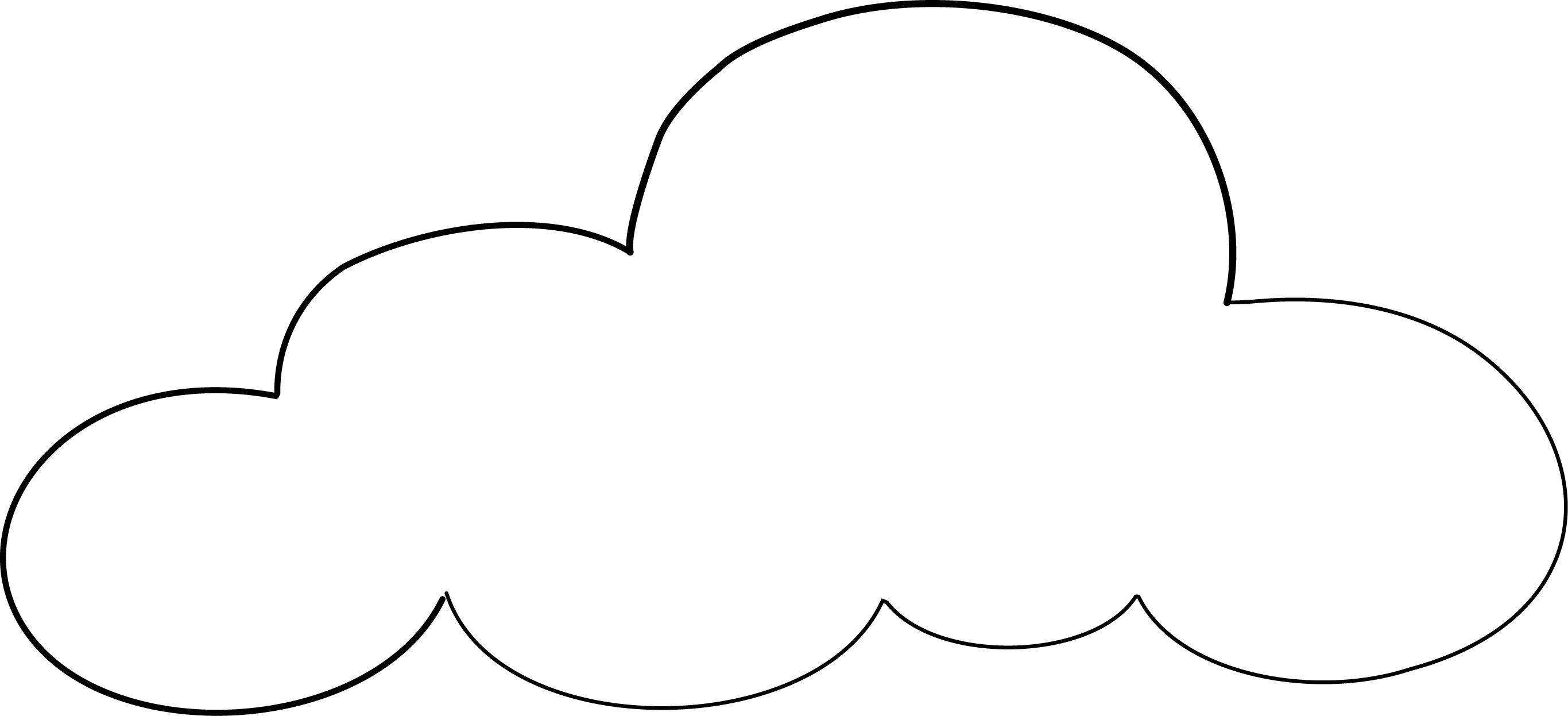 25+ Amazing Photo of Cloud Coloring Page