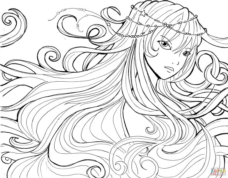 Coloring Pages Anime Anime Girls Coloring Pages Free Coloring Pages