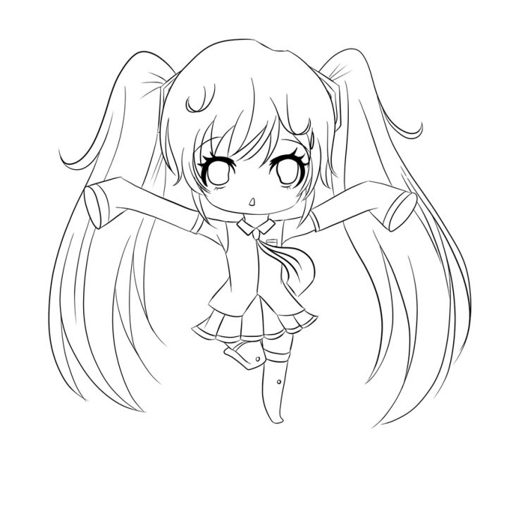 Coloring Pages Anime Coloring Pages Coloring Pages Anime Book Online Free Adult Chibi