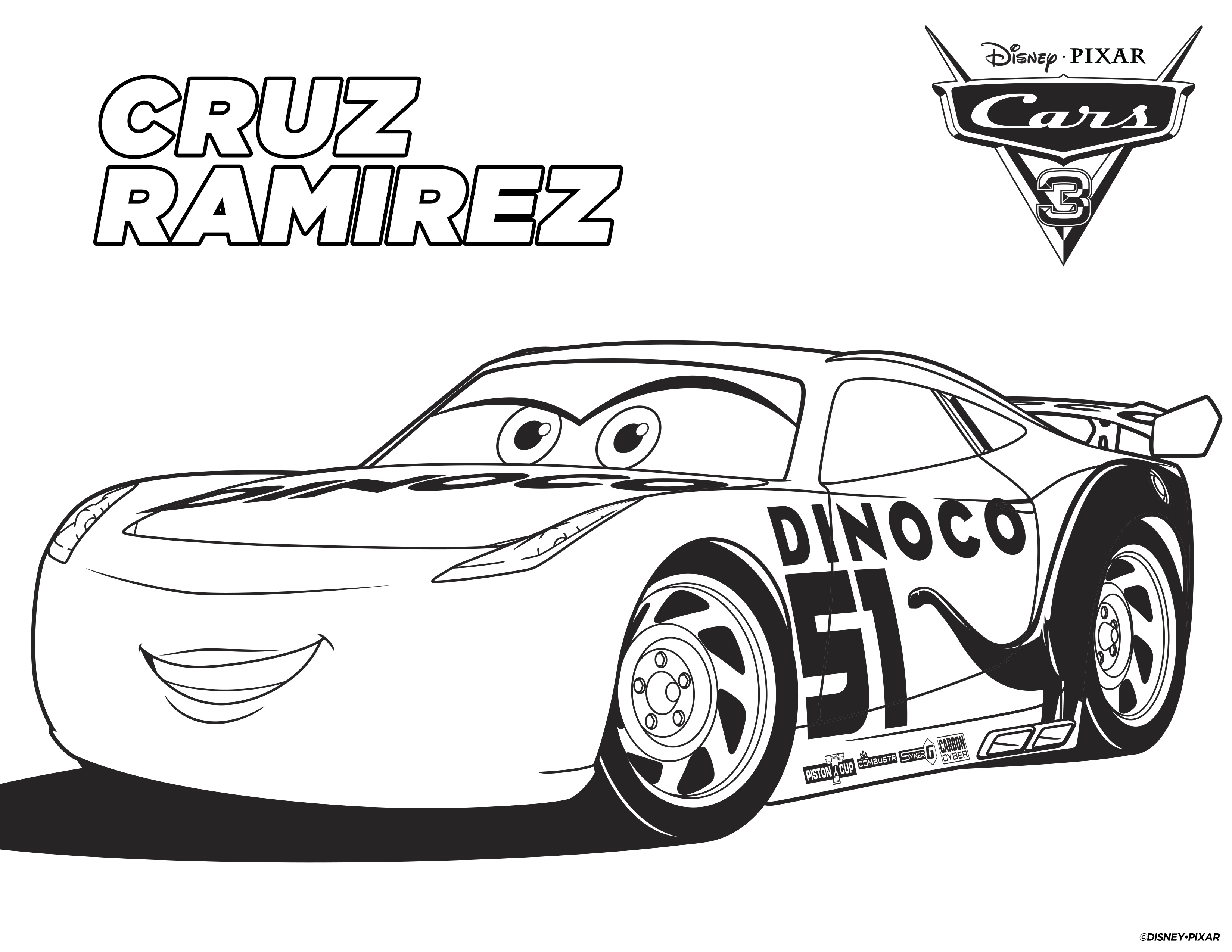 Coloring Pages Of Cars 4 Disney Cars Free Printable Coloring Pages