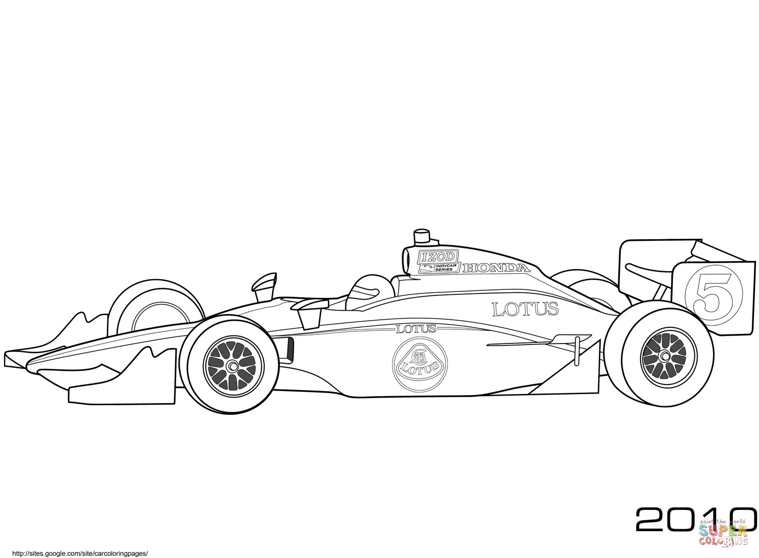 Coloring Pages Of Cars Race Car Coloring Pages Cars Free Printable Pictures Takuma Sato