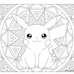 Coloring Pages Pokemon 025 Pikachu Pokemon Coloring Page Windingpathsart