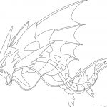 Coloring Pages Pokemon Mega Gyarados Pokemon Coloring Pages Printable