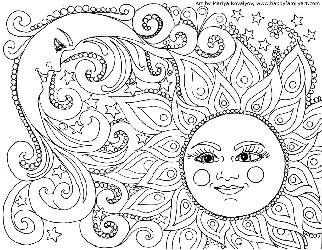 Coloring Pages To Print Free Adult Coloring Pages Happiness Is Homemade