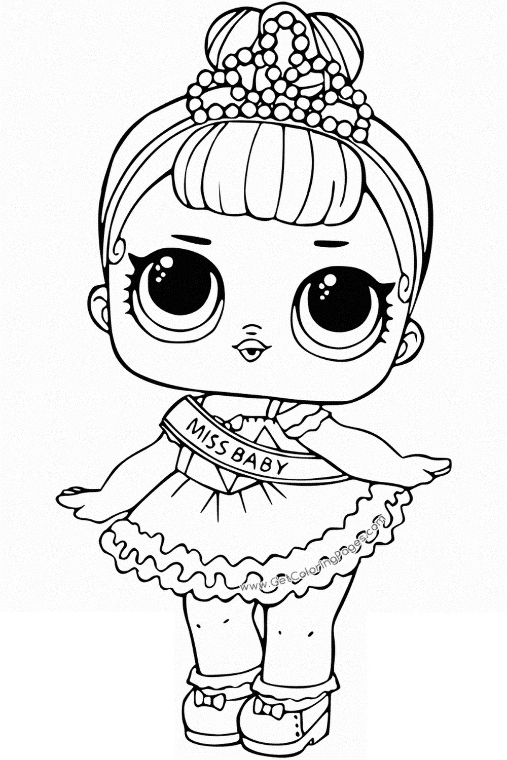 Coloring Pages To Print Lol Surprise Dolls Coloring Pages Print Out For Free All The
