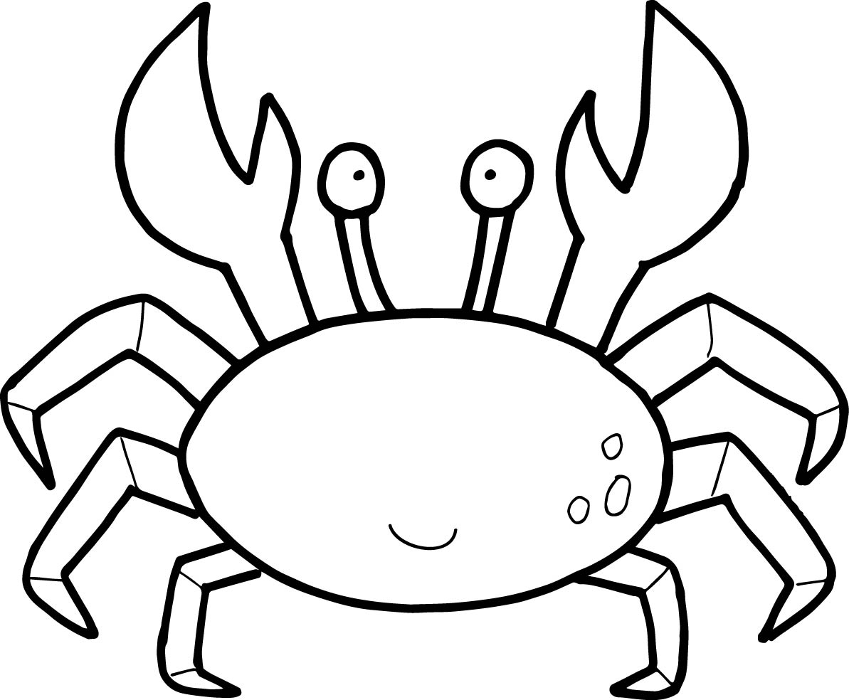 25+ Exclusive Image of Crab Coloring Pages