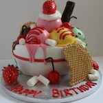 Creative Birthday Cakes An Icecream Sundae Birthday Cake Follow Me On Facebookpauls