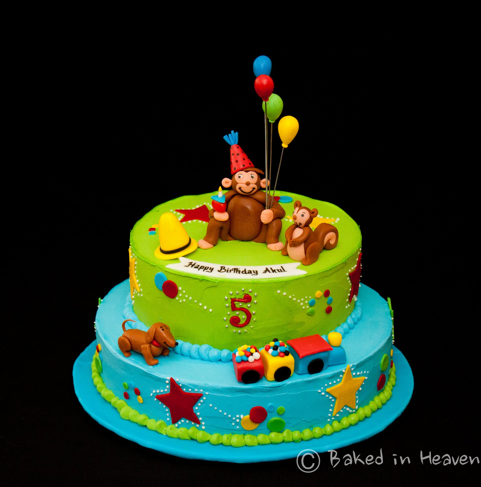 Curious George Birthday Cakes Another Curious George Cake Baked In Heaven