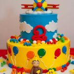 Curious George Birthday Cakes Curious George Birthday Cake Boy Birthday Bashes Pinterest