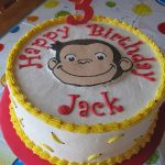 Curious George Birthday Cakes Curious George Birthday Cake Cakecentral