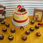 Curious George Birthday Cakes Happy Birthday Beckham Curious George Themed Birthday Party