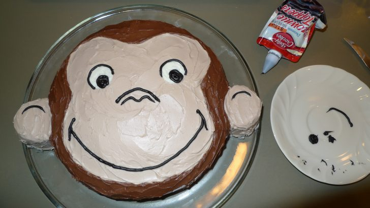 Curious George Birthday Cakes How To Make A Curious George Birthday Cake Kristina Lim