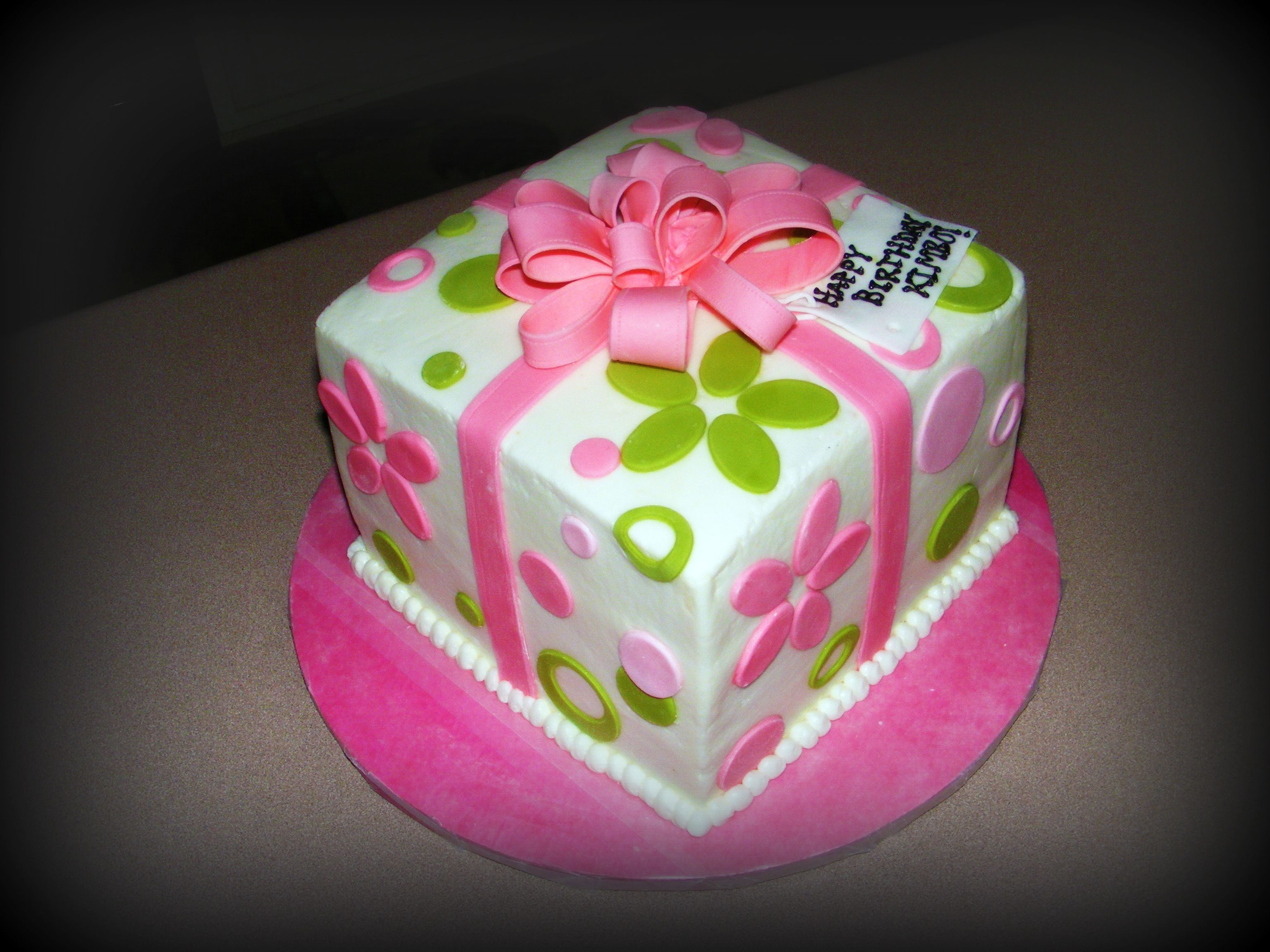 Cute Birthday Cakes For Teens Present Cake Teen