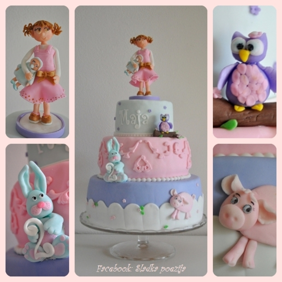 Cute Birthday Cakes Little Girls Cute Birthday Cake Cakecentral