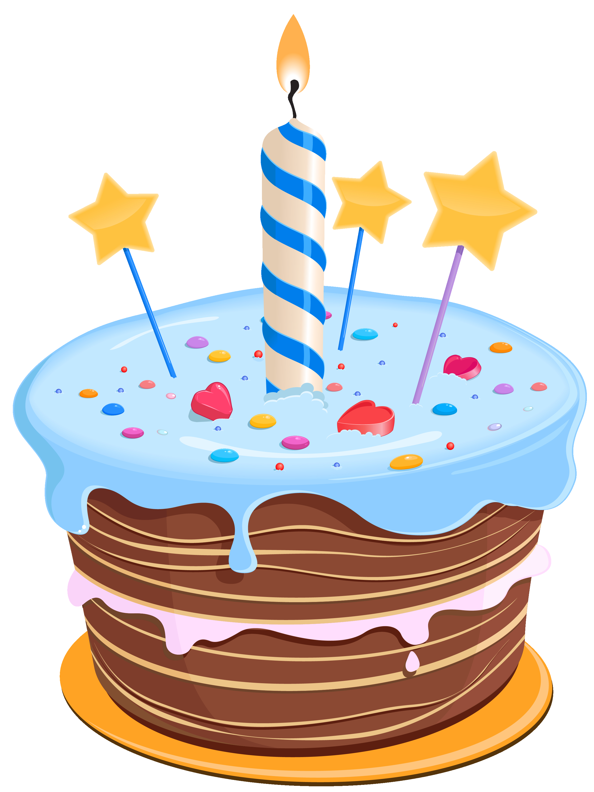 Cute Birthday Cakes Set These Cute Birthday Cake Clipart As Desktop Profile In Your Pc