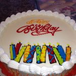 Dairy Queen Birthday Cakes Dq Cakesdairy Queen Candles And Flames Ice Cream Cake