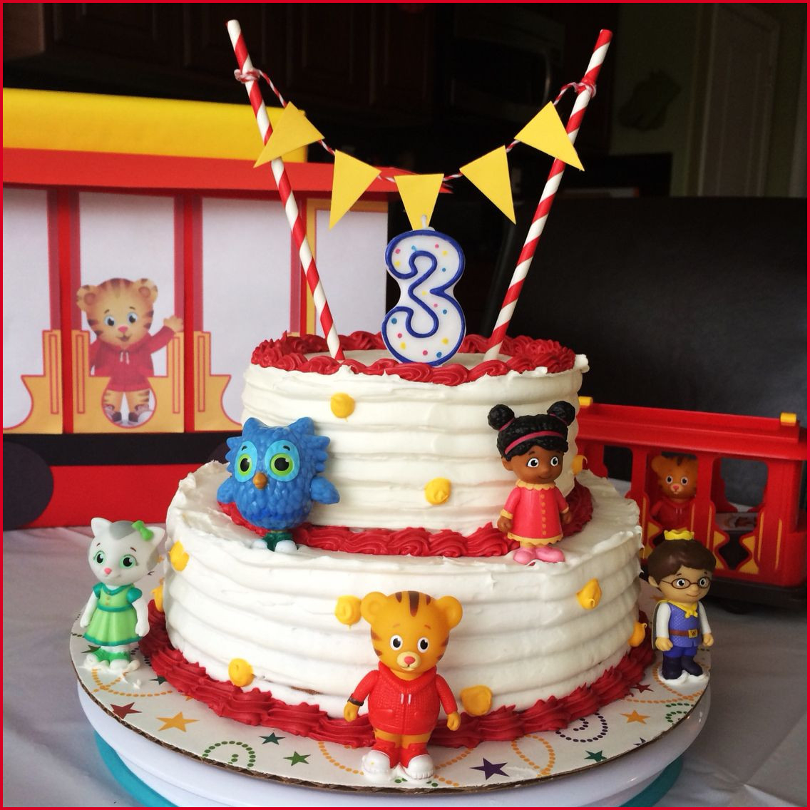 Daniel Tiger Birthday Cake Awesome Daniel Tiger Birthday Cake Pics Of Birthday Ideas 29828