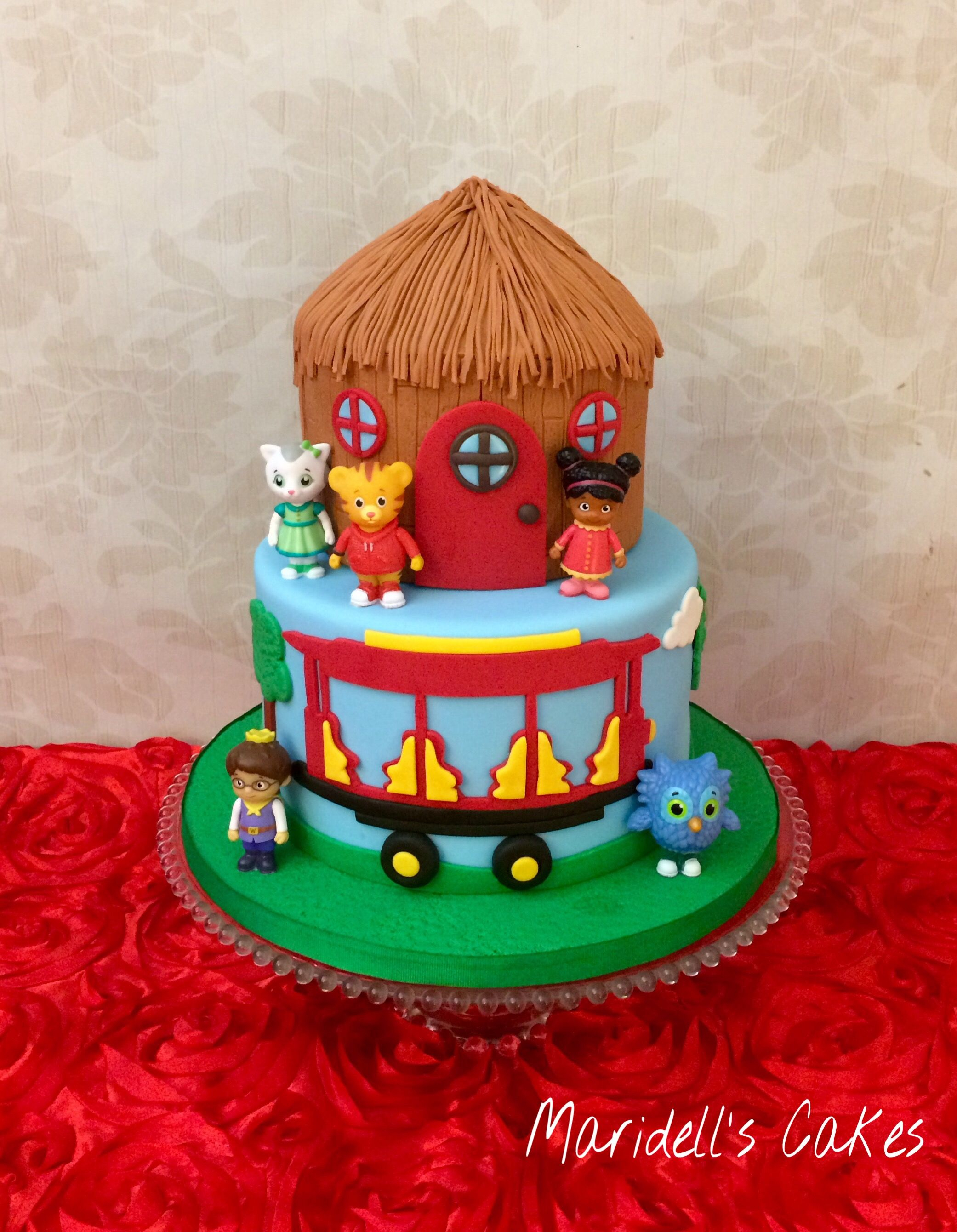 Daniel Tiger Birthday Cake Daniel The Tiger Birthday Cake Maridells Cakes Pinterest
