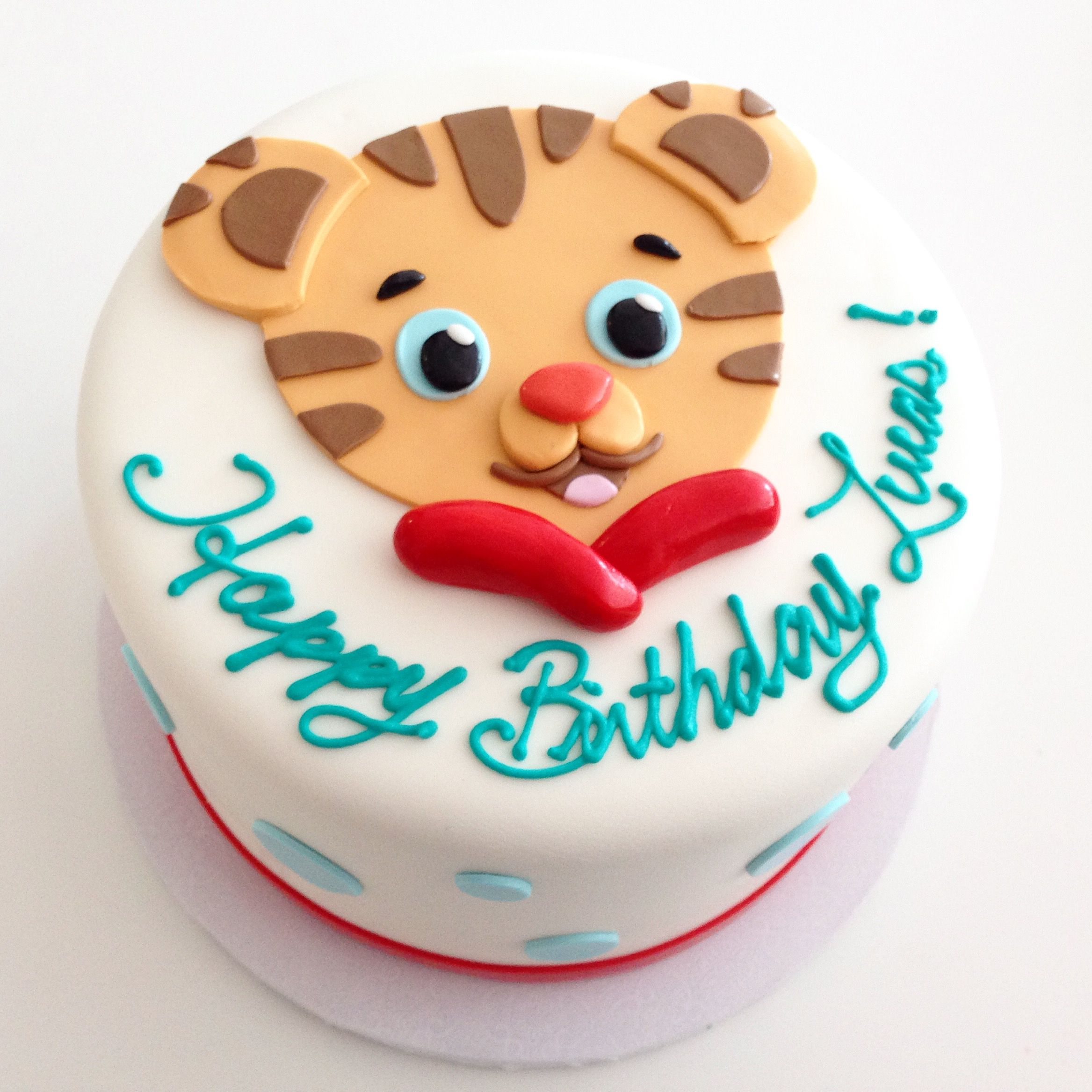 Daniel Tiger Birthday Cake Daniel The Tiger Cake Ba Beas Bakeshop Party Ideas In 2019