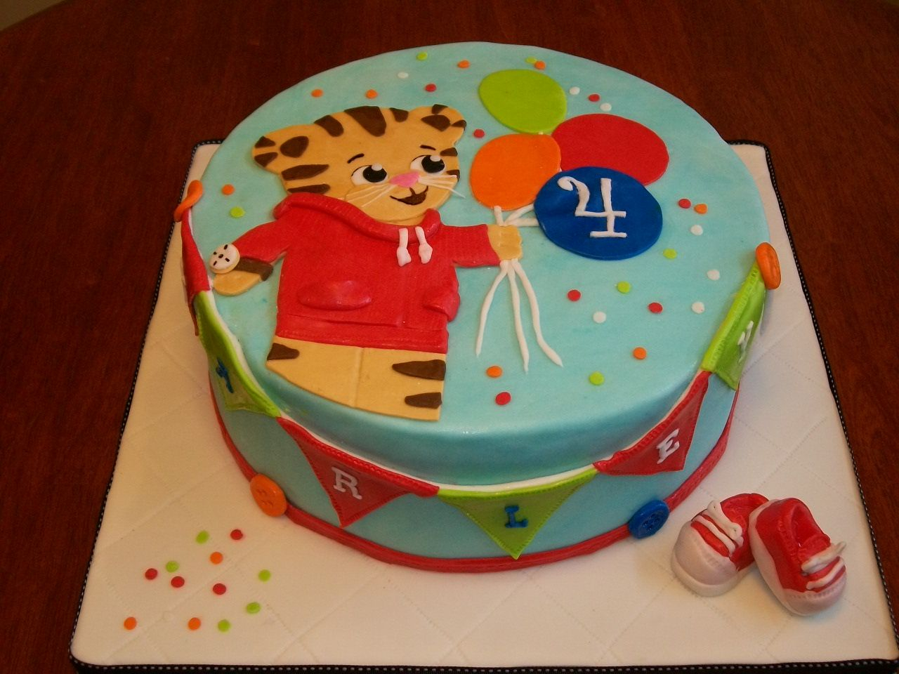Daniel Tiger Birthday Cake Daniel Tiger Birthday Cake Ideas Cakepins Nellis Cake Ideas