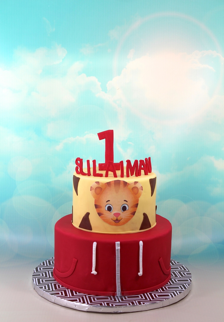 Daniel Tiger Birthday Cake Daniel Tiger Neighborhood Cakecentral