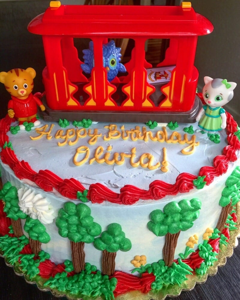 Daniel Tiger Birthday Cake Happy Birthday Daniel Tiger Themed Cake Yelp With The Most Stylish