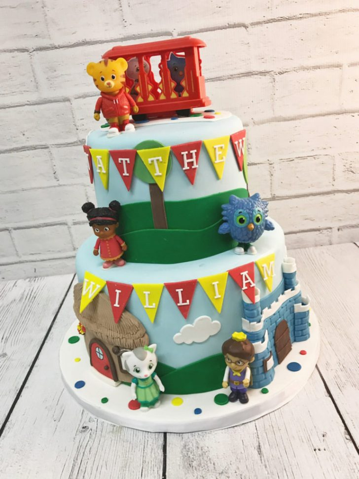 Daniel Tiger Birthday Cake Nashville Sweets Daniel Tiger Birthday Cake