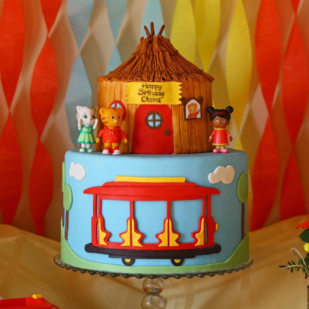 Daniel Tiger Birthday Cake Patty Cakes Bakery Daniel Tiger Birthday Daniel The Tiger