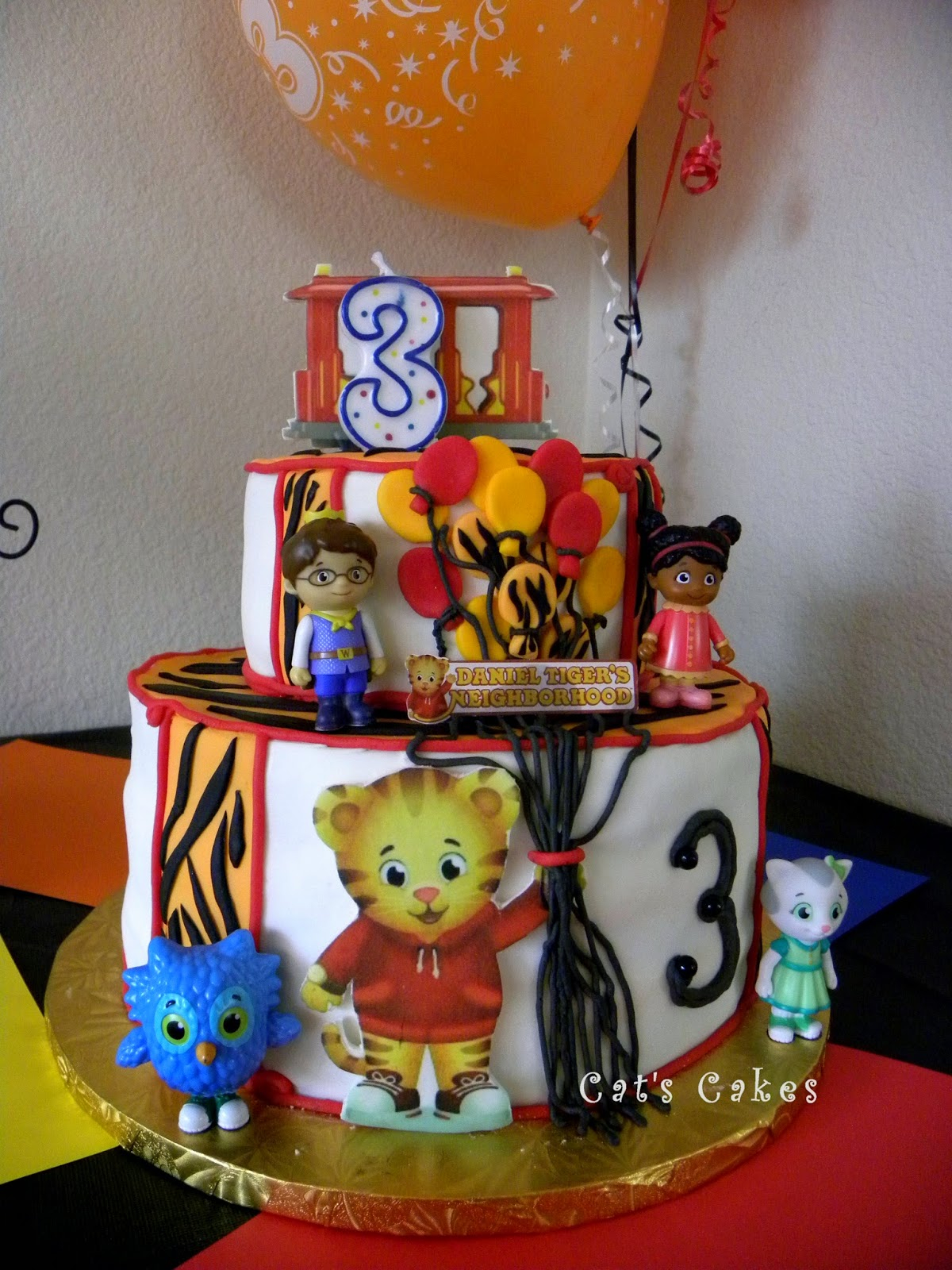 Daniel Tiger Birthday Cake The Cherry On Top Events Party Blog A Daniel Tigers 3rd Birthday