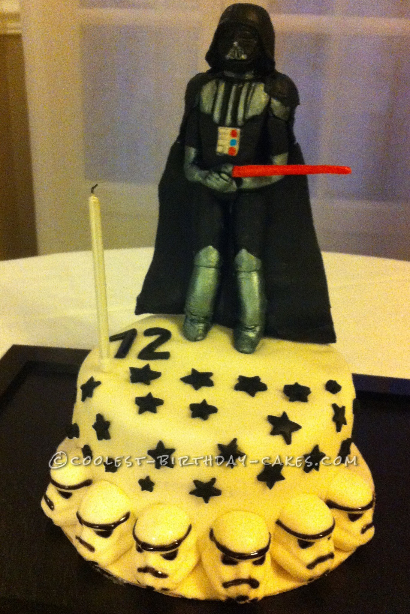Darth Vader Birthday Cake Coolest Darth Vader Birthday Cake