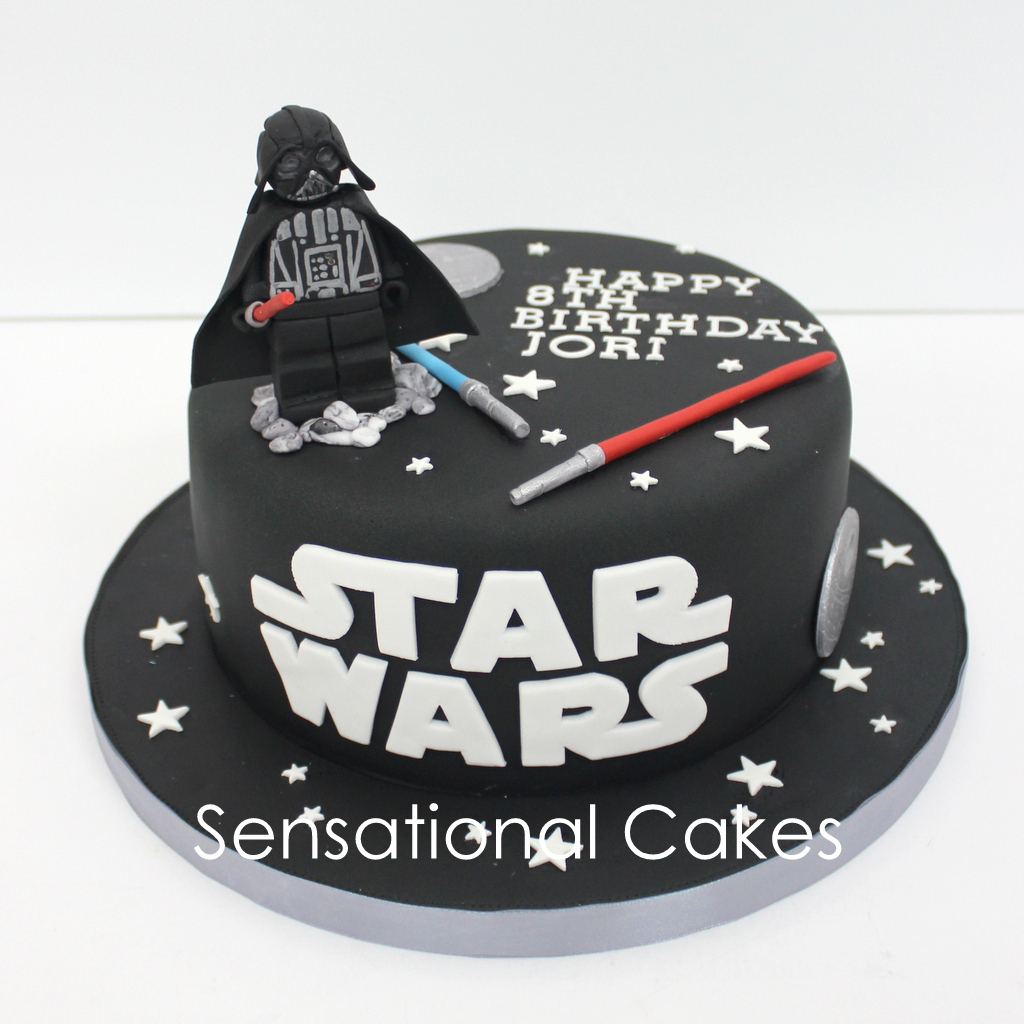 Darth Vader Birthday Cake Darth Vadar 3d Star Wars 3d Cake Singapore Black Star Wars Cake