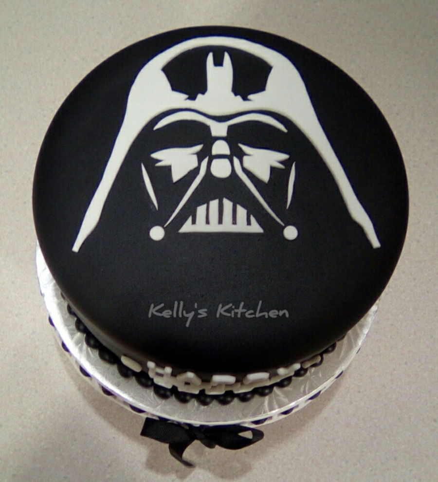 23+ Elegant Image of Darth Vader Birthday Cake