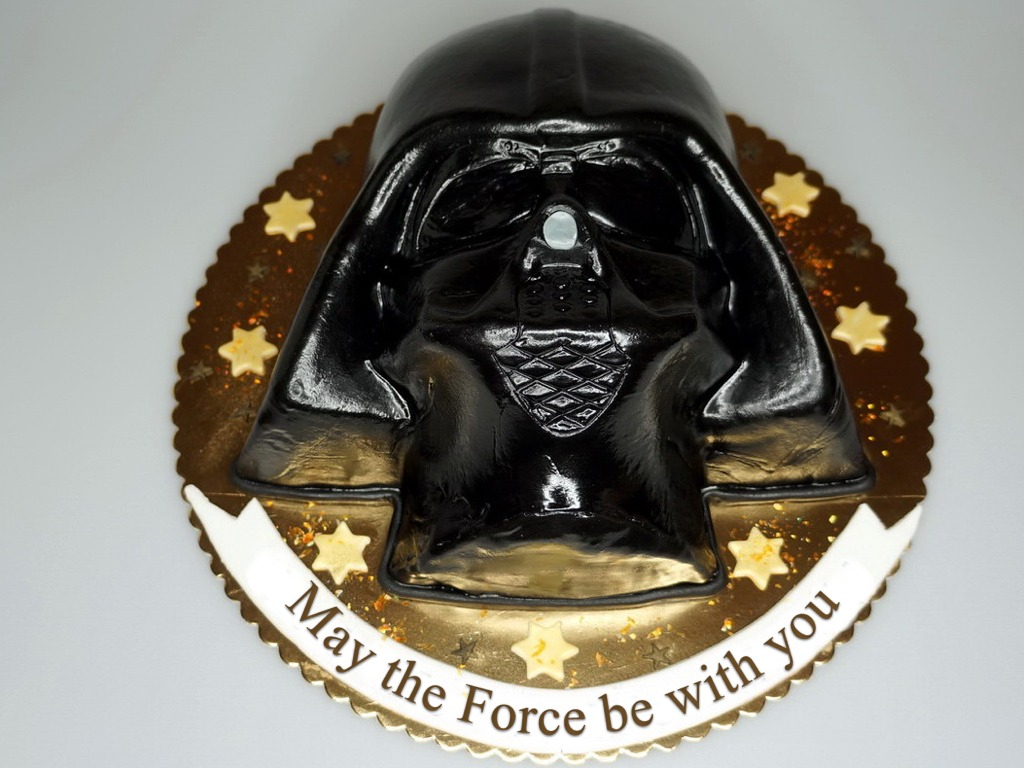 Darth Vader Birthday Cake London Patisserie Lord Darth Vader Birthday Cake And Star Wars
