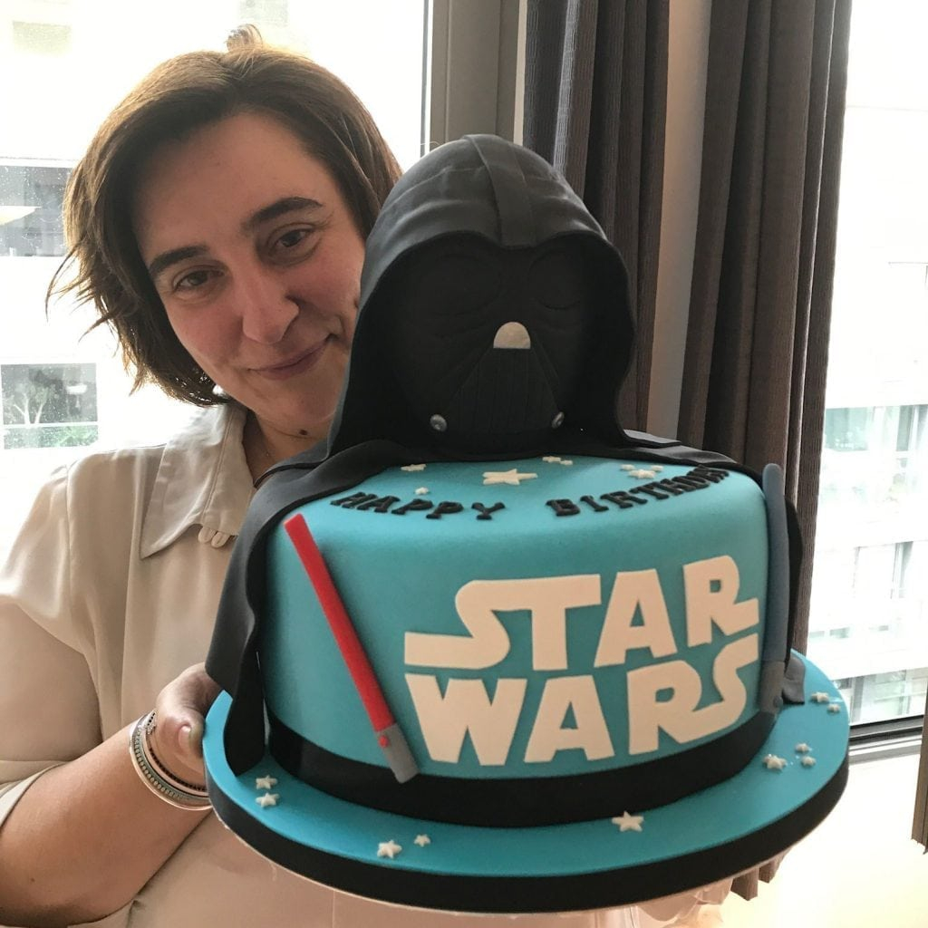 Darth Vader Birthday Cake Star Wars Birthday Cake Patricia Creative Cakes