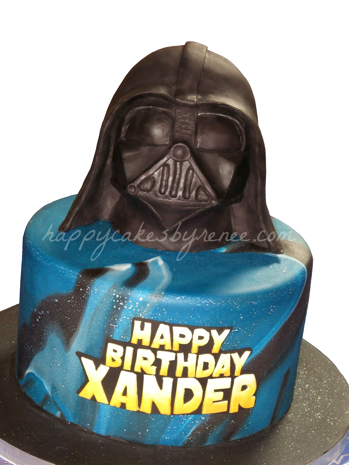 Darth Vader Birthday Cake Star Wars Darth Vader Cake Renee Conner Cake Design