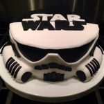 Darth Vader Birthday Cake Star Wars Stormtrooper And Darth Vader Cake Lol Pinterest Star