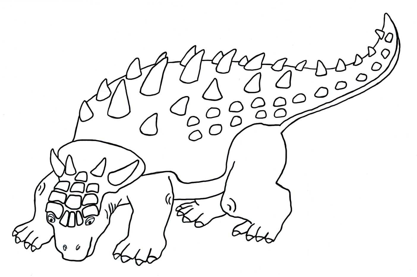 21+ Great Photo of Dinosaur Coloring Pages