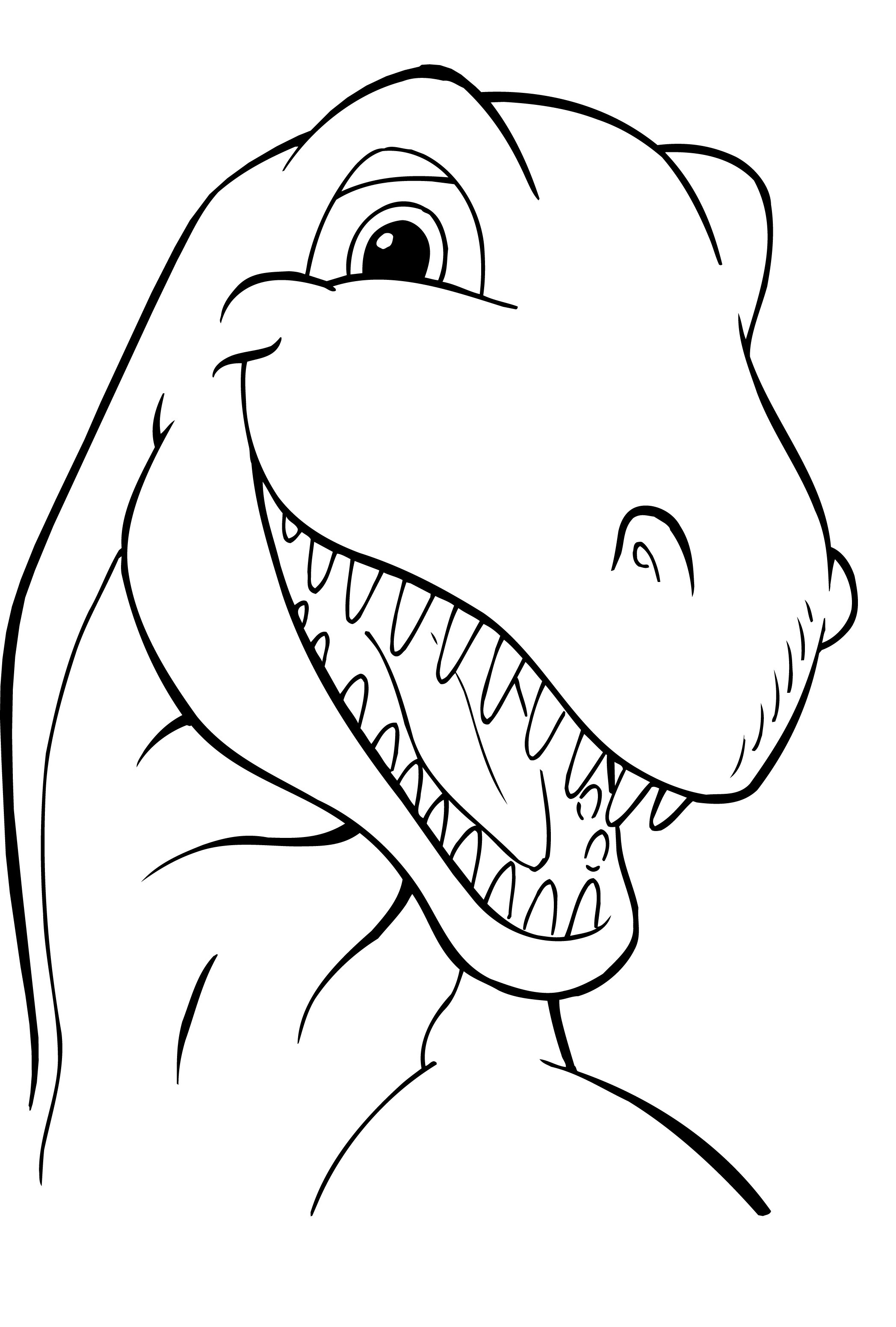 Dinosaur Coloring Pages Free Printable Dinosaur Coloring Pages For Kids