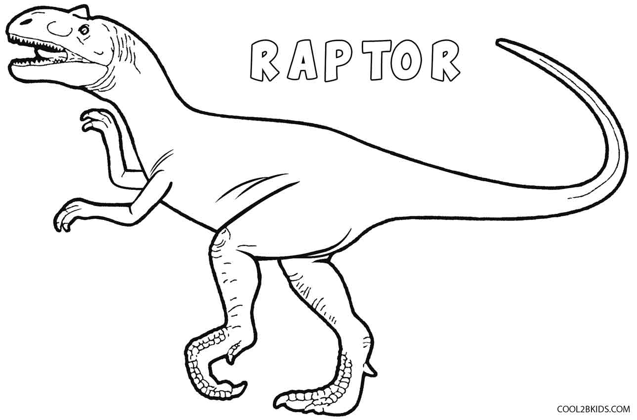 Dinosaur Coloring Pages Printable Dinosaur Coloring Pages For Kids Cool2bkids